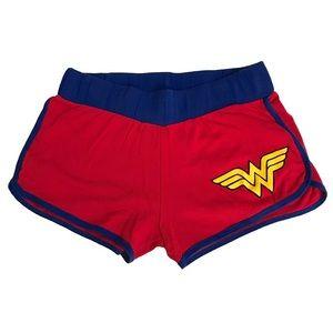 DC Comics Wonder Woman Booty Shorts Size Sm/Med